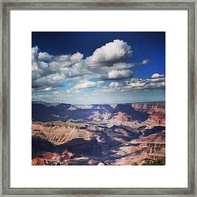 The Grand Canyon - Arizona Framed Print