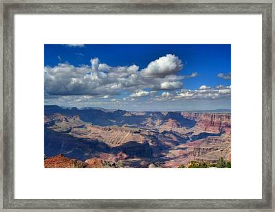 The Grand Canyon Framed Print by Luisa Azzolini