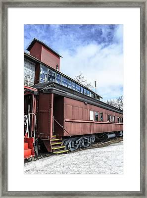 The Grand Trunk Western Depot  Framed Print