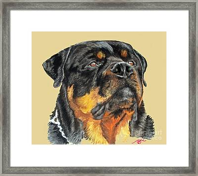The Guardian Framed Print by Ann Marie Chaffin