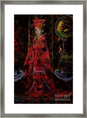 The Guide Framed Print by Angelika Drake