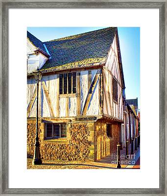 The Guildhall Leicester England Framed Print by Linsey Williams