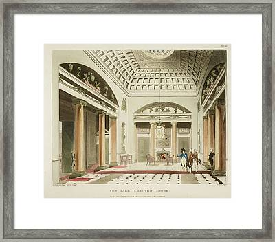The Hall Framed Print by British Library