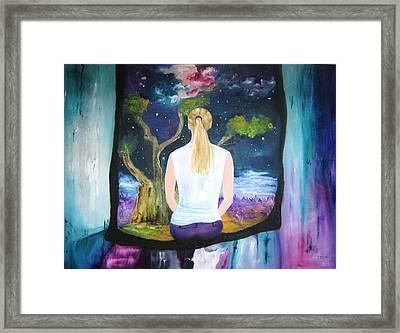 The Hallucination Framed Print