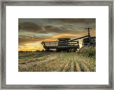 The Harvest Time Framed Print