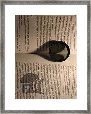 The Heart Framed Print by Fawad Hashmi
