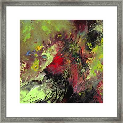 The Heart Of Nature Framed Print by Miki De Goodaboom