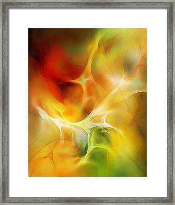 The Heart Of The Matter Framed Print