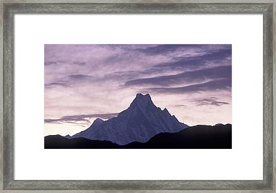 The Himalayas Framed Print by Anonymous