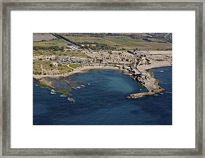 The Hippodrome And The Time Tower Framed Print