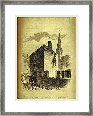 The History Of Jack Sheppard Framed Print