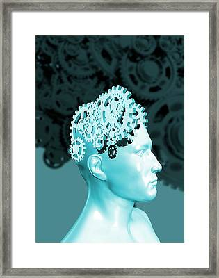 The Human Mind Framed Print