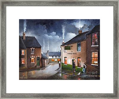 The Hundred House - Lye Framed Print