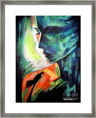 The Invisible Visible Framed Print by Helena Wierzbicki