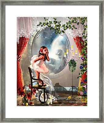 The Invitation Framed Print