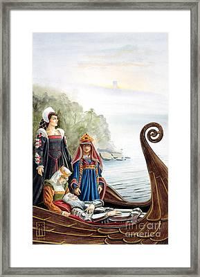 The Isle Of Avalon Framed Print