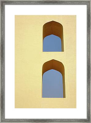 The Jantar Mantar, A Collection Framed Print