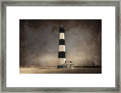 The Keeper Of The Graveyard Framed Print by Chris Modlin