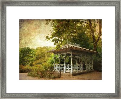 The Ladies Pavilion Framed Print by Jessica Jenney