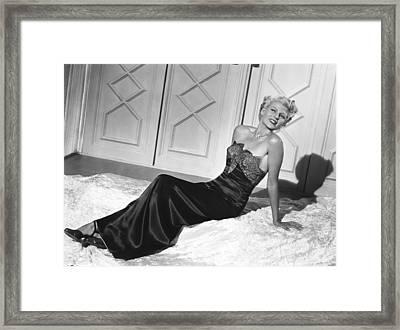 The Lady From Shanghai, Rita Hayworth Framed Print by Everett
