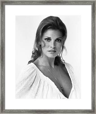 The Last Of Sheila, Raquel Welch, 1973 Framed Print by Everett