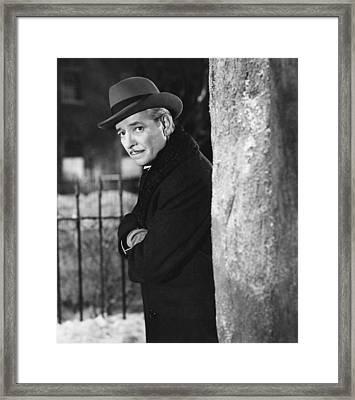 The Late George Apley, Ronald Colman Framed Print by Everett