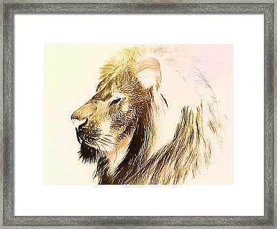 The Lion King Framed Print