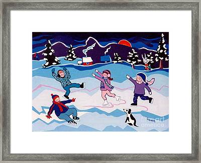 The Little Showoffs Framed Print