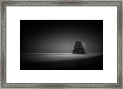 The Lonely Apostle Framed Print by Mihai Florea