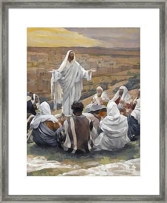 The Lords Prayer Framed Print
