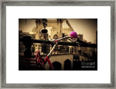 The Magere Brug Amsterdam Framed Print by Michal Bednarek