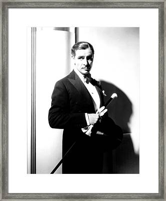 The Man Who Broke The Bank At Monte Framed Print by Everett