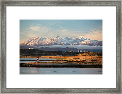 The Martial Mountain Range Framed Print by Ashley Cooper
