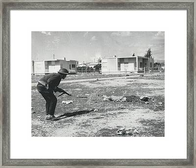 The Massacre Of Limassol Framed Print by Retro Images Archive