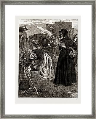 The Mayor Of Casterbridge, Drawn By Robert Barnes, Written Framed Print by Litz Collection