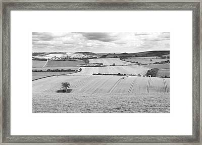 The Meon Valley Framed Print