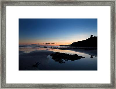 The Metal Man On Newtown Head, Tramore Framed Print by Panoramic Images
