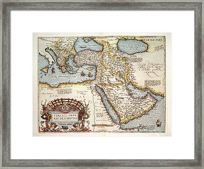 The Middle East Framed Print