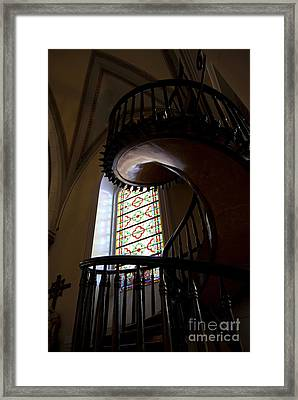 The Miraculous Staircase Framed Print by Gina Savage