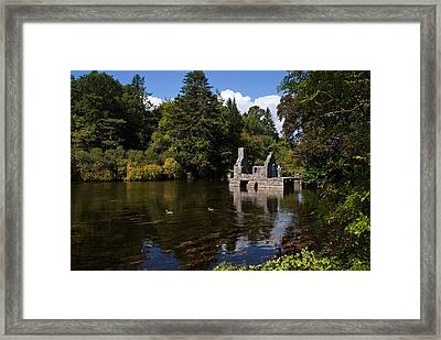 The Monks Fishing House, Part Of Cong Framed Print by Panoramic Images