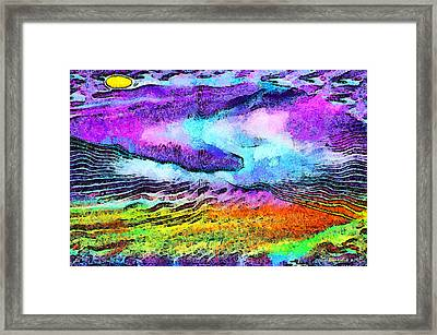 The Moon Of My Soul Framed Print