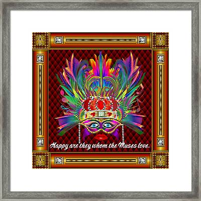 The Muse Version-2 Framed Print by Bill Campitelle
