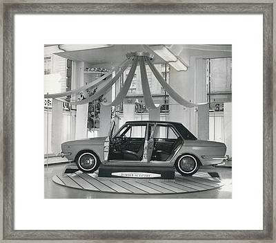 The New Humber Scepter Framed Print by Retro Images Archive