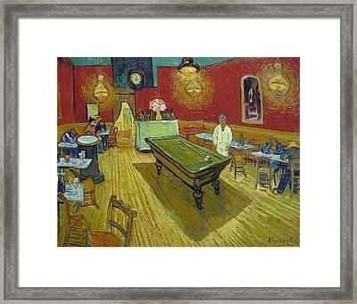 The Night Cafe Framed Print