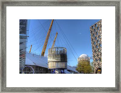 The O2 Arena Framed Print by Ash Sharesomephotos