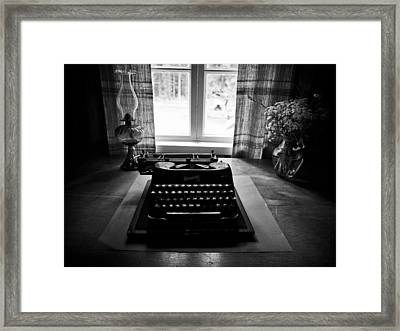The Office Framed Print by Jouko Lehto
