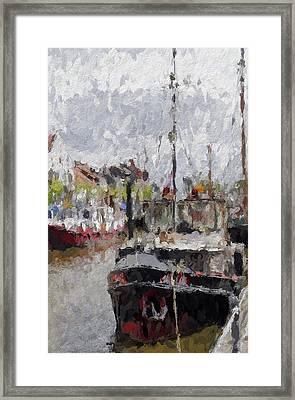 The Old Harbor Framed Print