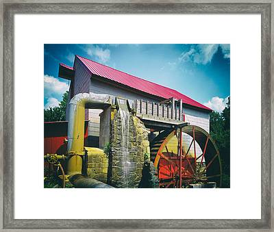 The Old Mill Of Guilford Framed Print by Mountain Dreams
