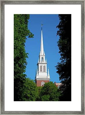 The Old North Church Is Officially Framed Print