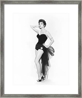 The Opposite Sex, Joan Collins, 1956 Framed Print